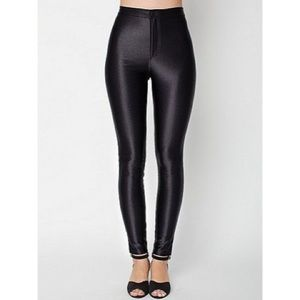 American Apparel High Waisted Disco Pant